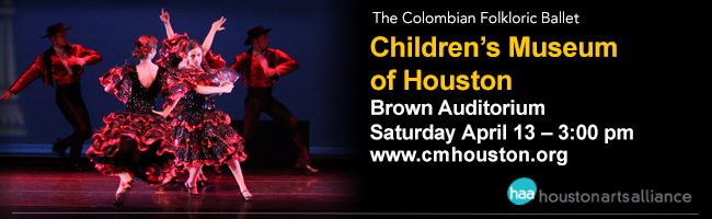 The Colombian Folkloric Ballet Children's Museum of Houston 2013