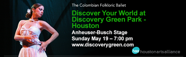 The Colombian Folkloric Ballet—Discover your world at Discovery Green Park Houston 2013