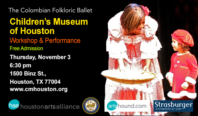 The Colombian Folkloric Ballet Children's Museum of Houston 2016