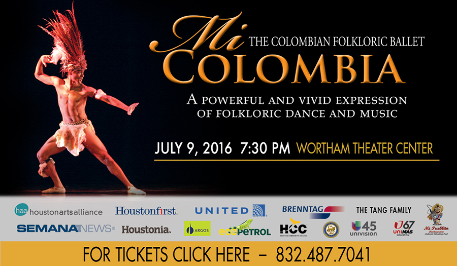 The Colombian Folkloric Ballet Mi Colombia 2016. A Powerful and Vivid Expression of Folkloric Dance and Music